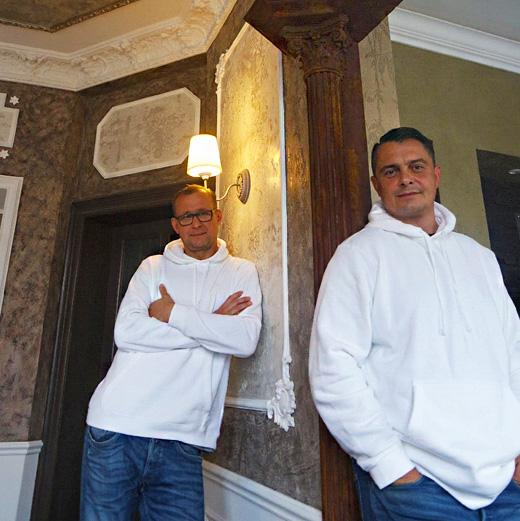 Raumwelt Dresden - Raumgestalter Sven und Michael